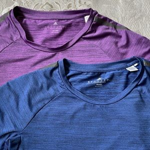 adidas active wear tops size small 2